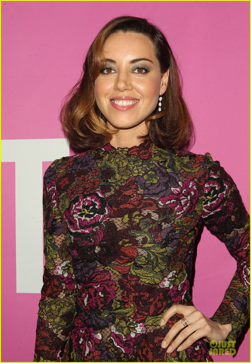 Aubrey Plaza Gets Sweet Support From Chris Pratt At Life After Beth