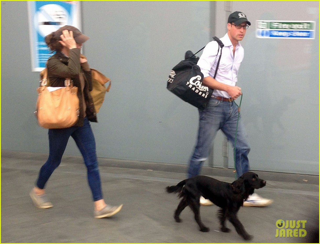 prince william kate middleton undercover kings cross station 053186798