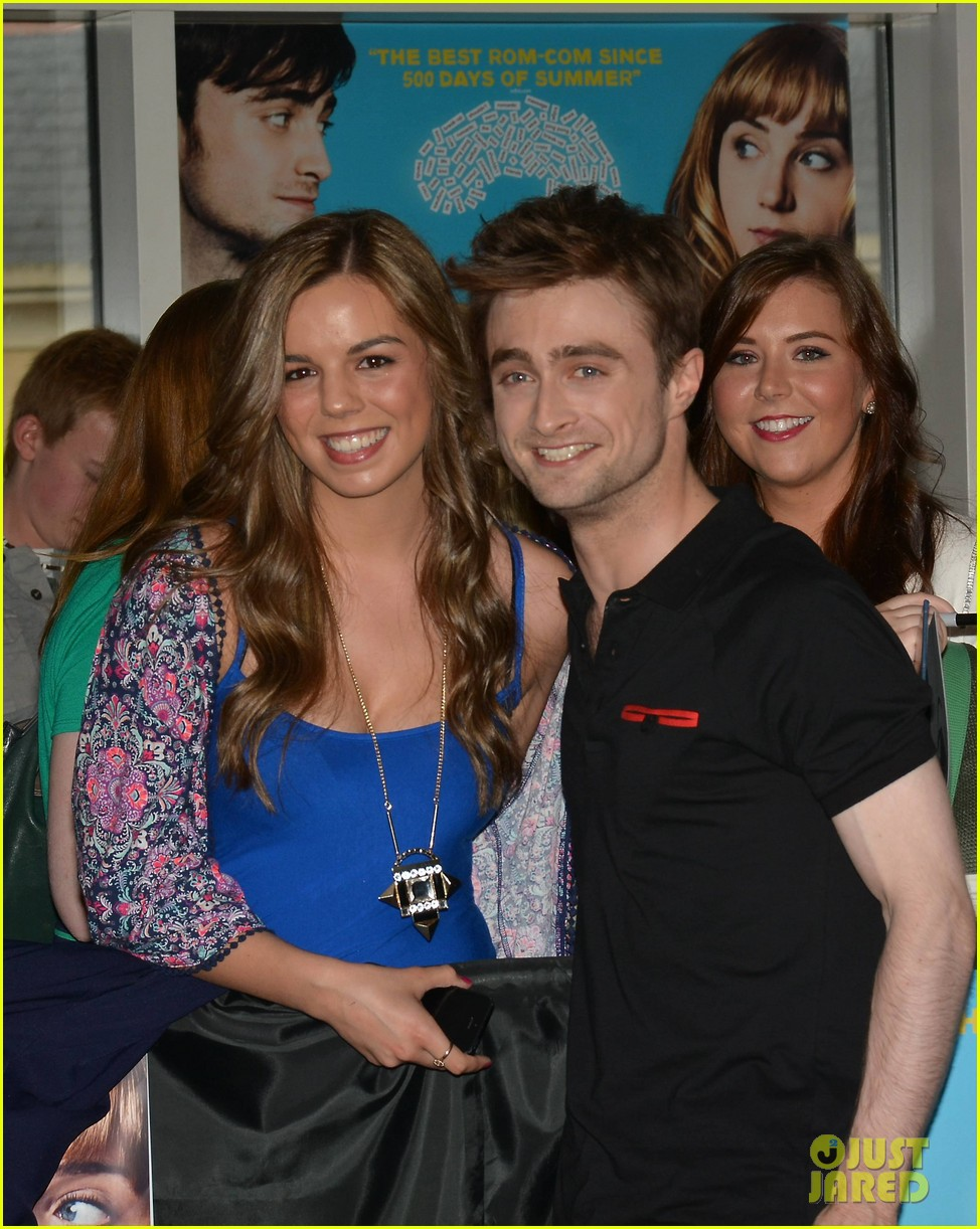 daniel radcliffe pose with fans what if dublin ireland 083177397