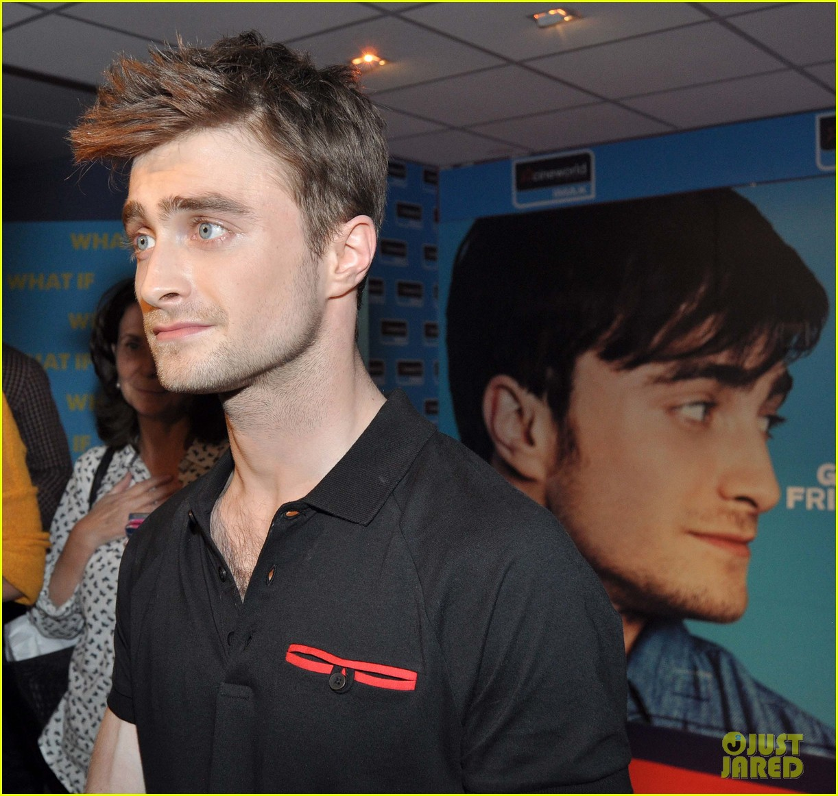 daniel radcliffe pose with fans what if dublin ireland 253177414