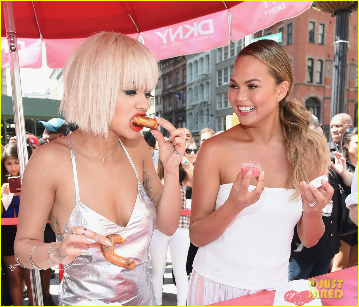 rita ora myny pretzel nyc launch 113179151