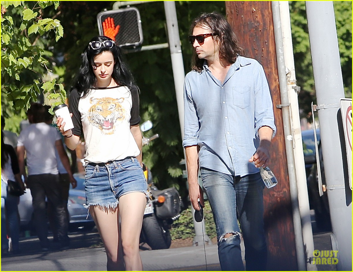 krysten ritter adam granduciel keep distance on stroll 053182811