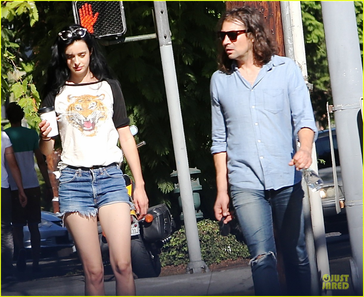 krysten ritter adam granduciel keep distance on stroll 07