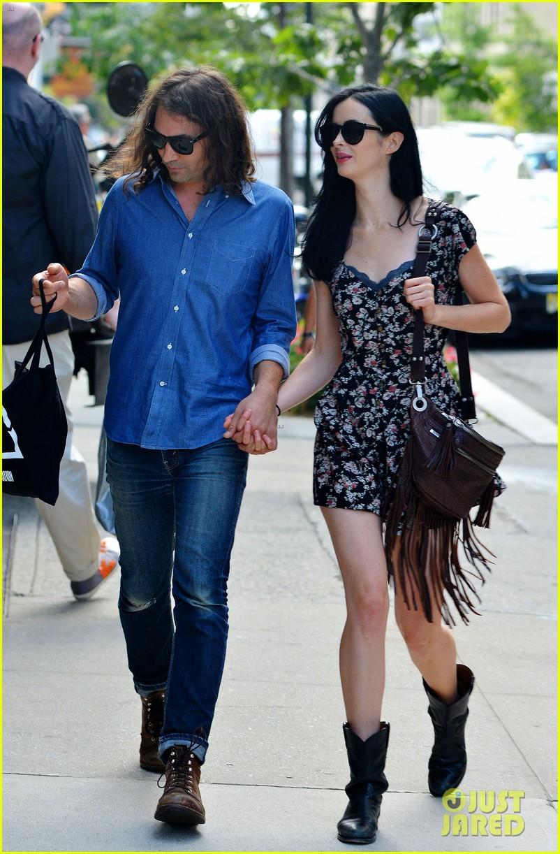 Krysten Ritter Holds Hands with New Boyfriend Adam ...