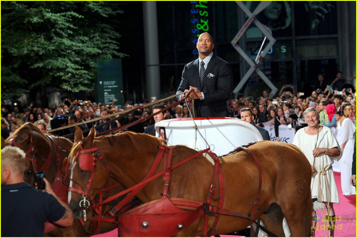 dwayne the rock johnson hercules berlin premiere 013180460