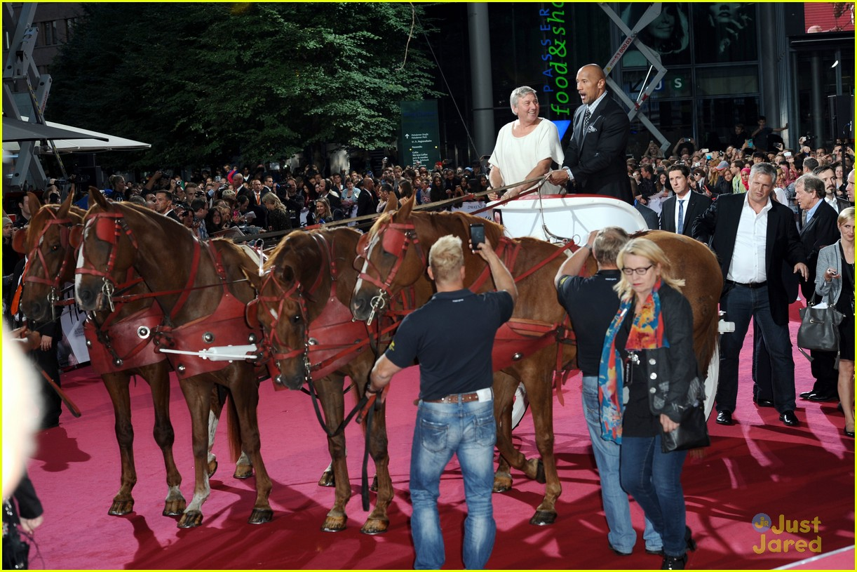 dwayne the rock johnson hercules berlin premiere 083180467