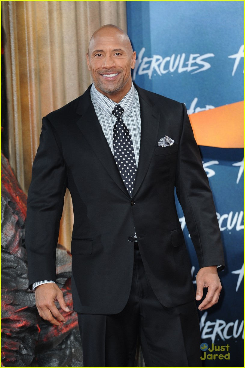 dwayne the rock johnson hercules berlin premiere 12