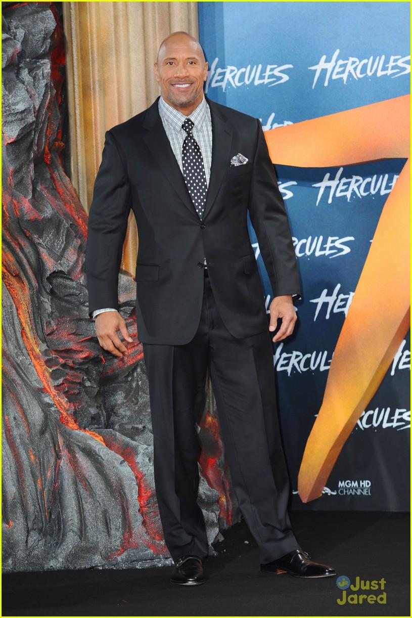dwayne the rock johnson hercules berlin premiere 133180472