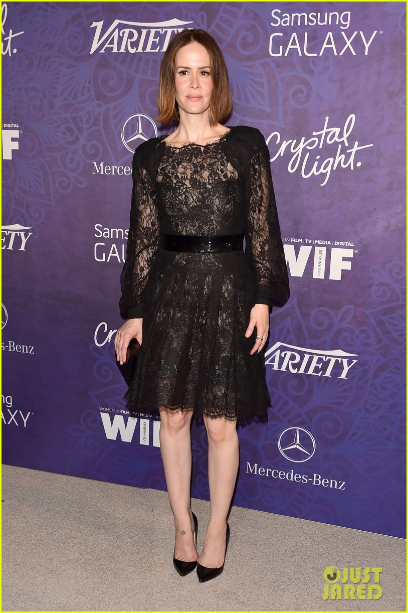 sarah paulson sophia bush variety emmys party 2014 063181999