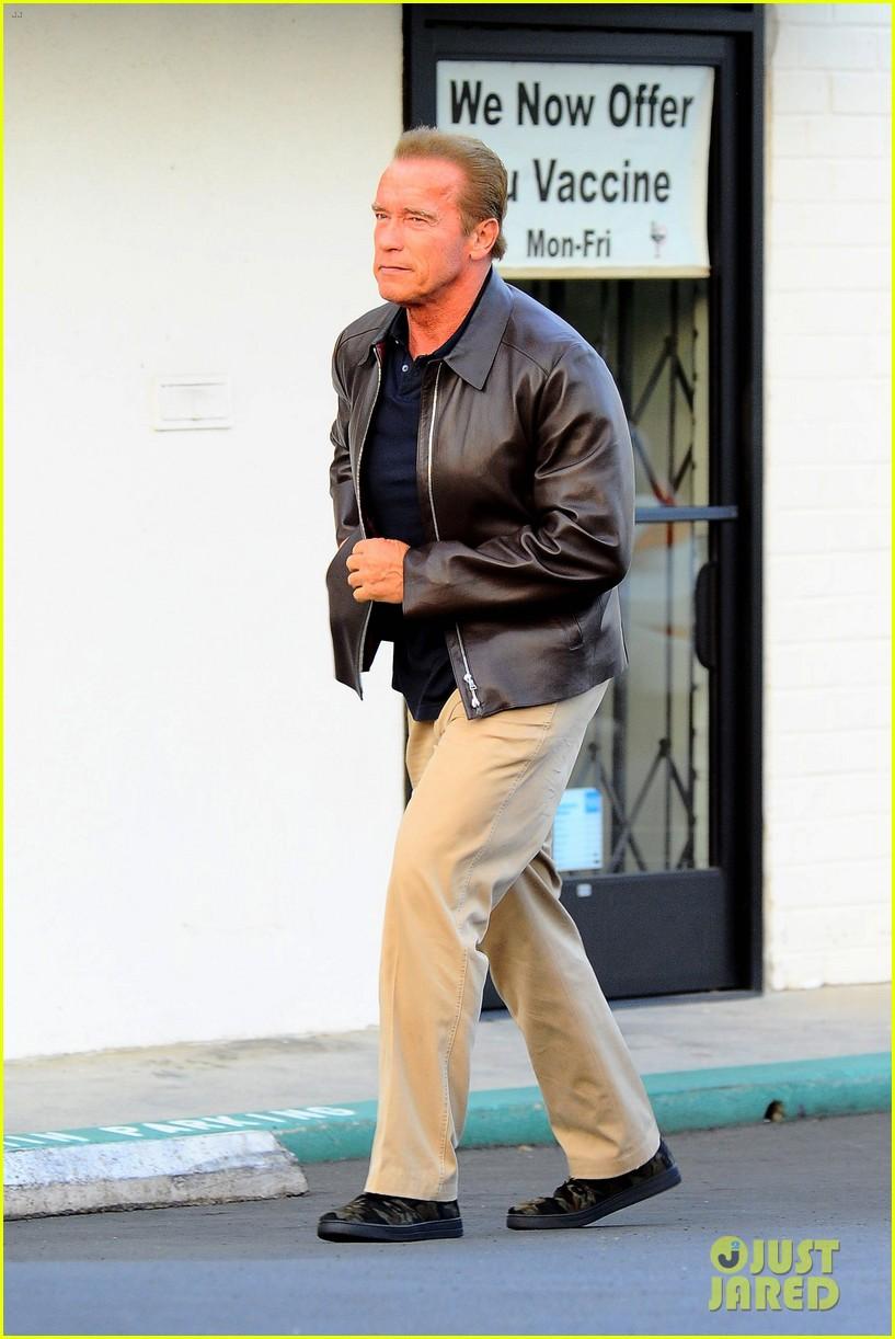 Arnold Schwarzenegger goes on lunch date with girlfriend