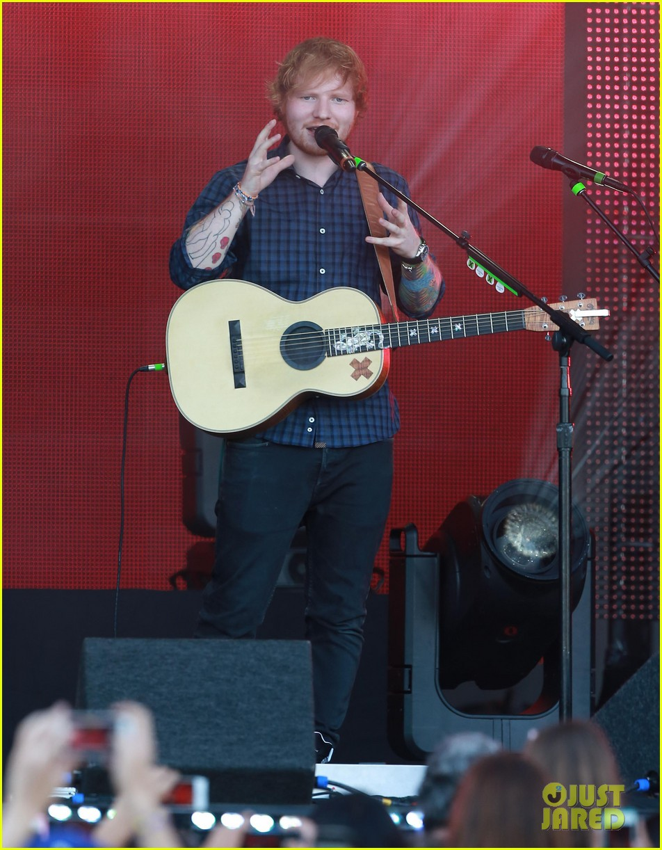 ed sheeran kimmel live performance 033185784