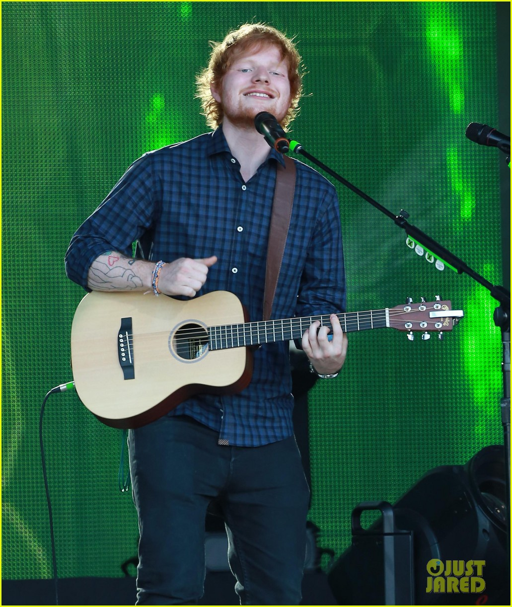 ed sheeran kimmel live performance 043185785