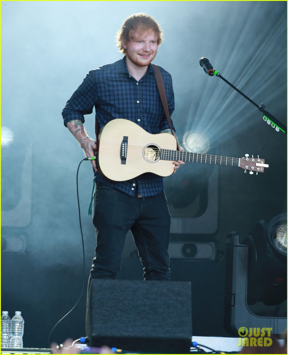 ed sheeran kimmel live performance 09