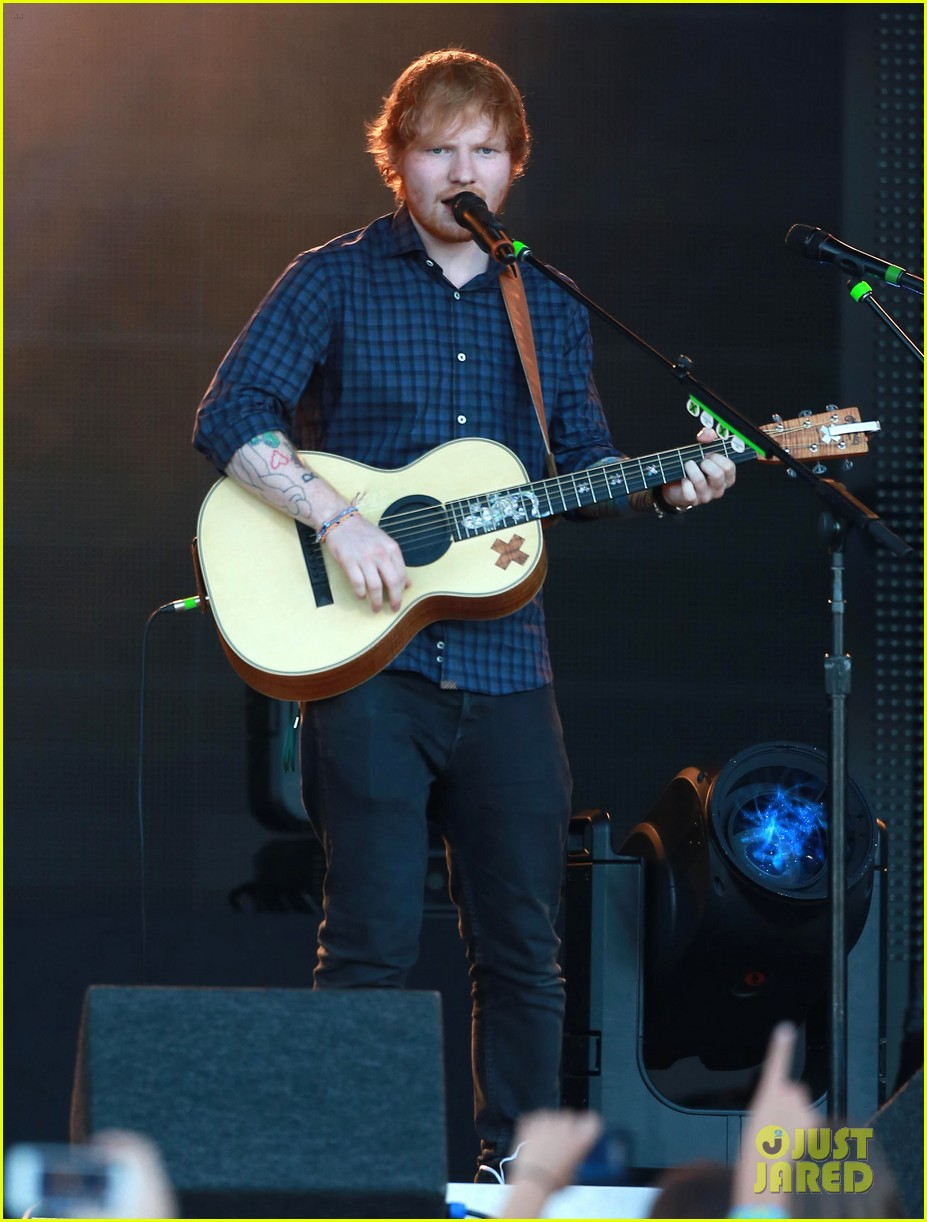 ed sheeran kimmel live performance 103185791