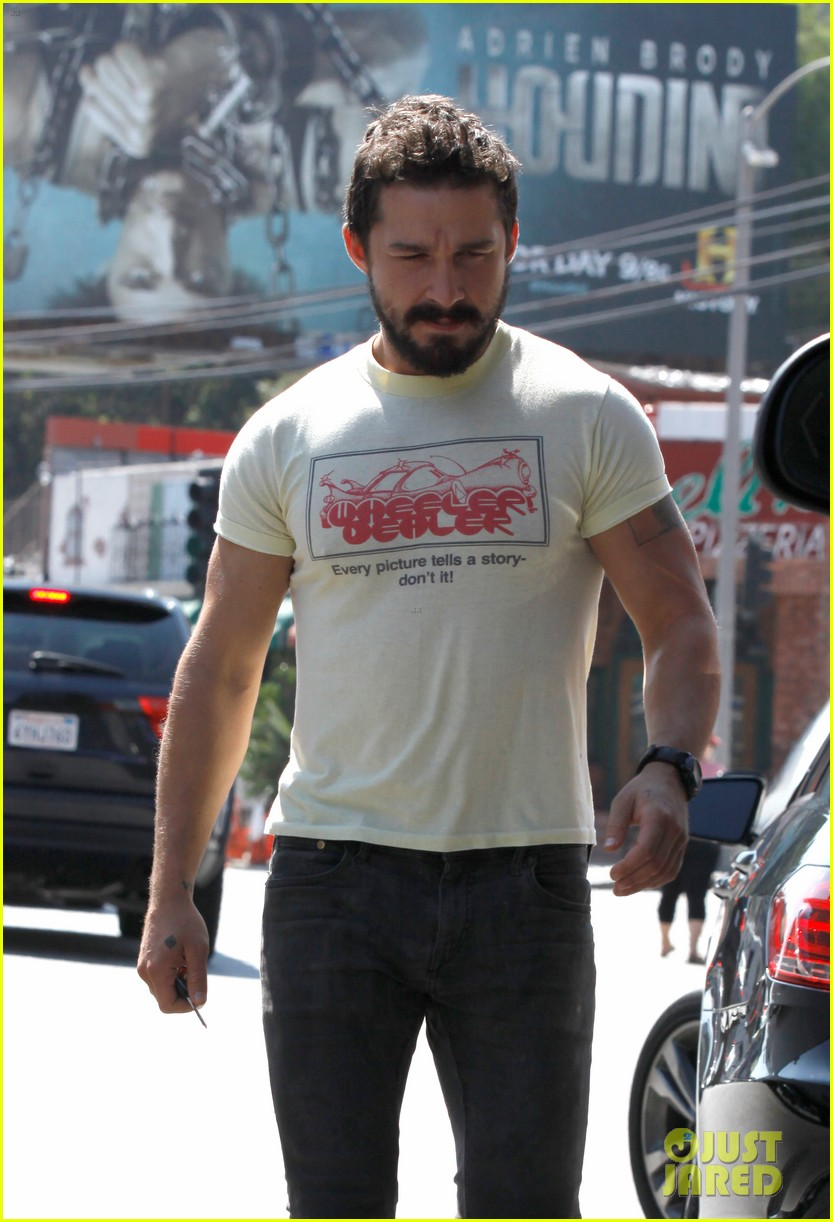 shia labeouf does the ice bucket challenge barely reacts to the water 023180178