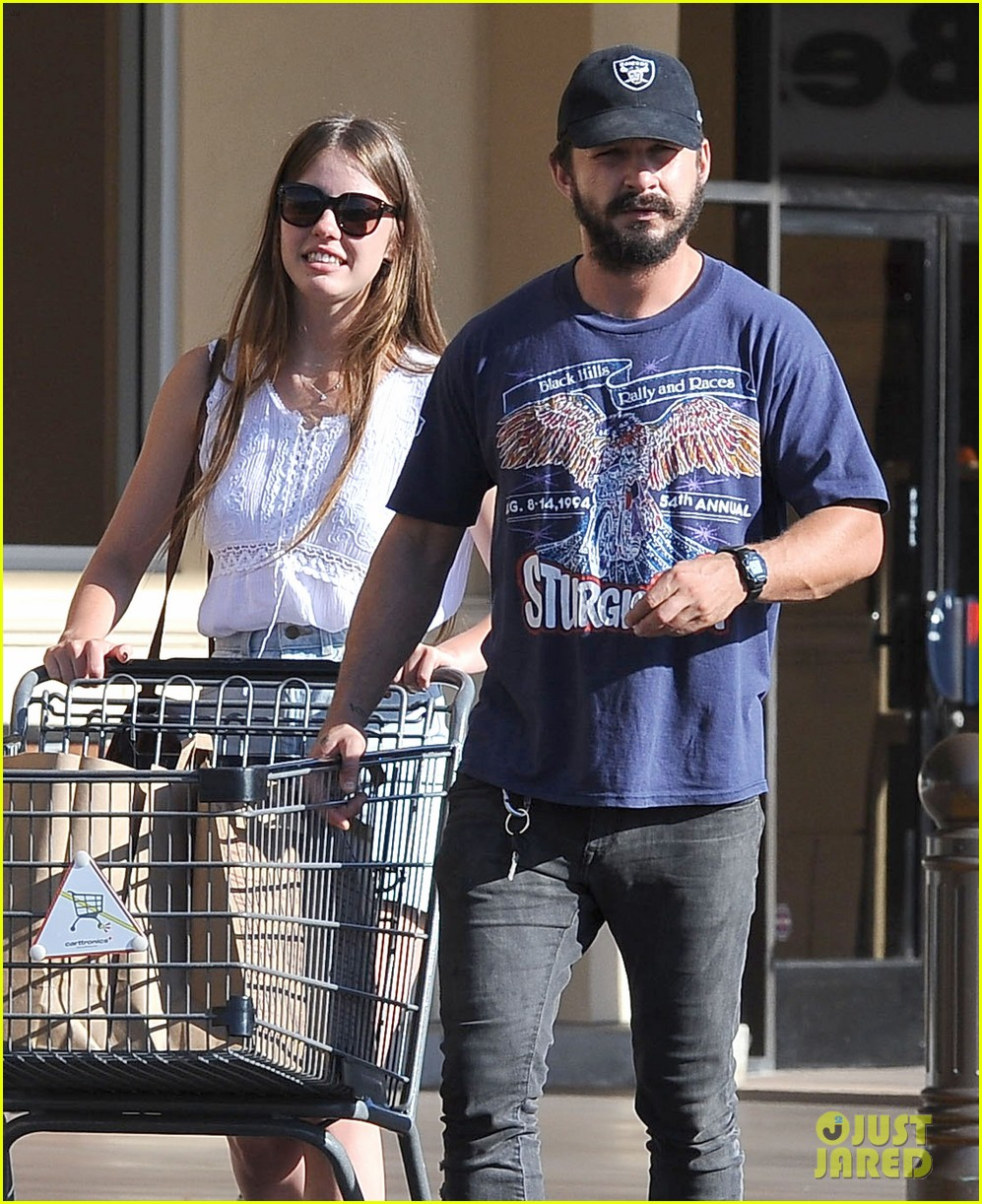 shia labeouf girlfriend mia goth lemonade lunch lovers 153186964