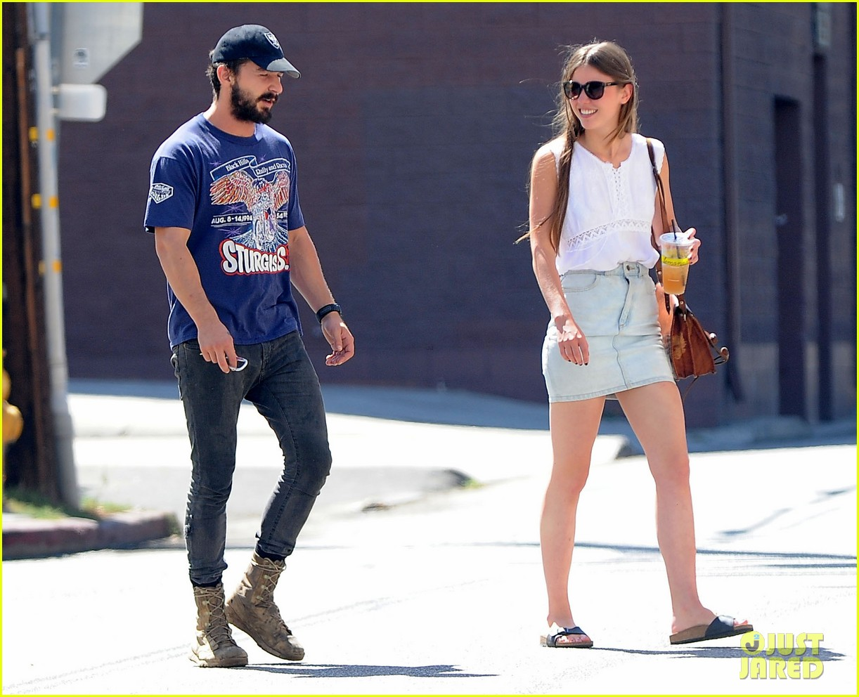 shia labeouf girlfriend mia goth lemonade lunch lovers 243186973