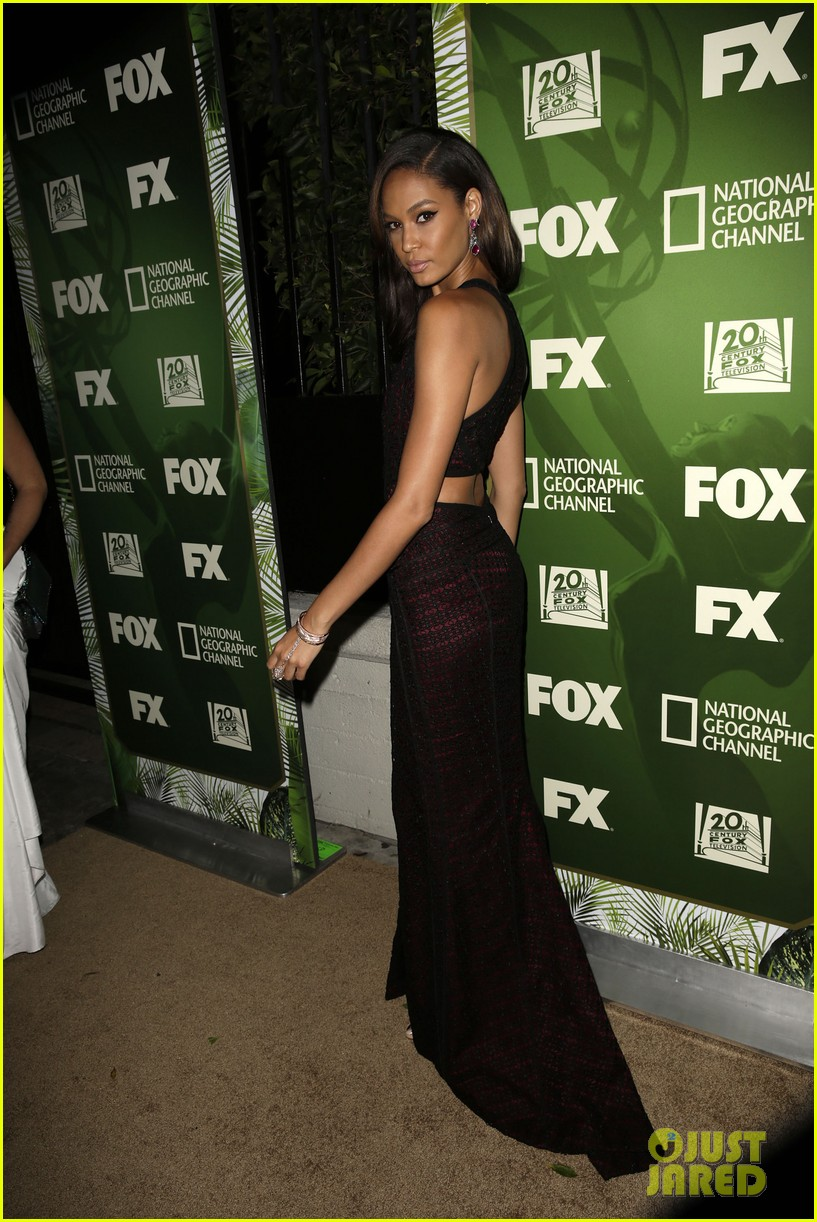 joan smalls fox emmys after party 073184007