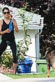 ian somerhalder nikki reed hiking dogs 11