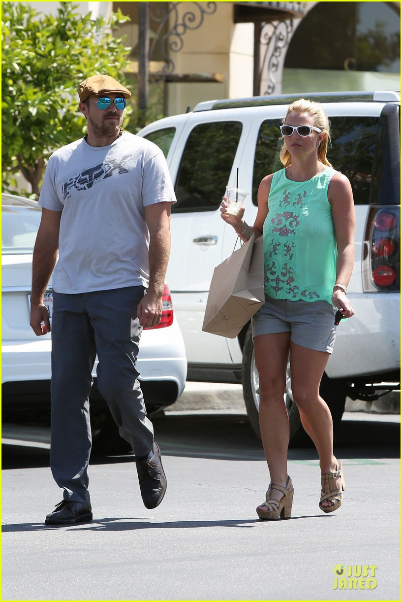 britney spears david lucado spend precious time together 213178859