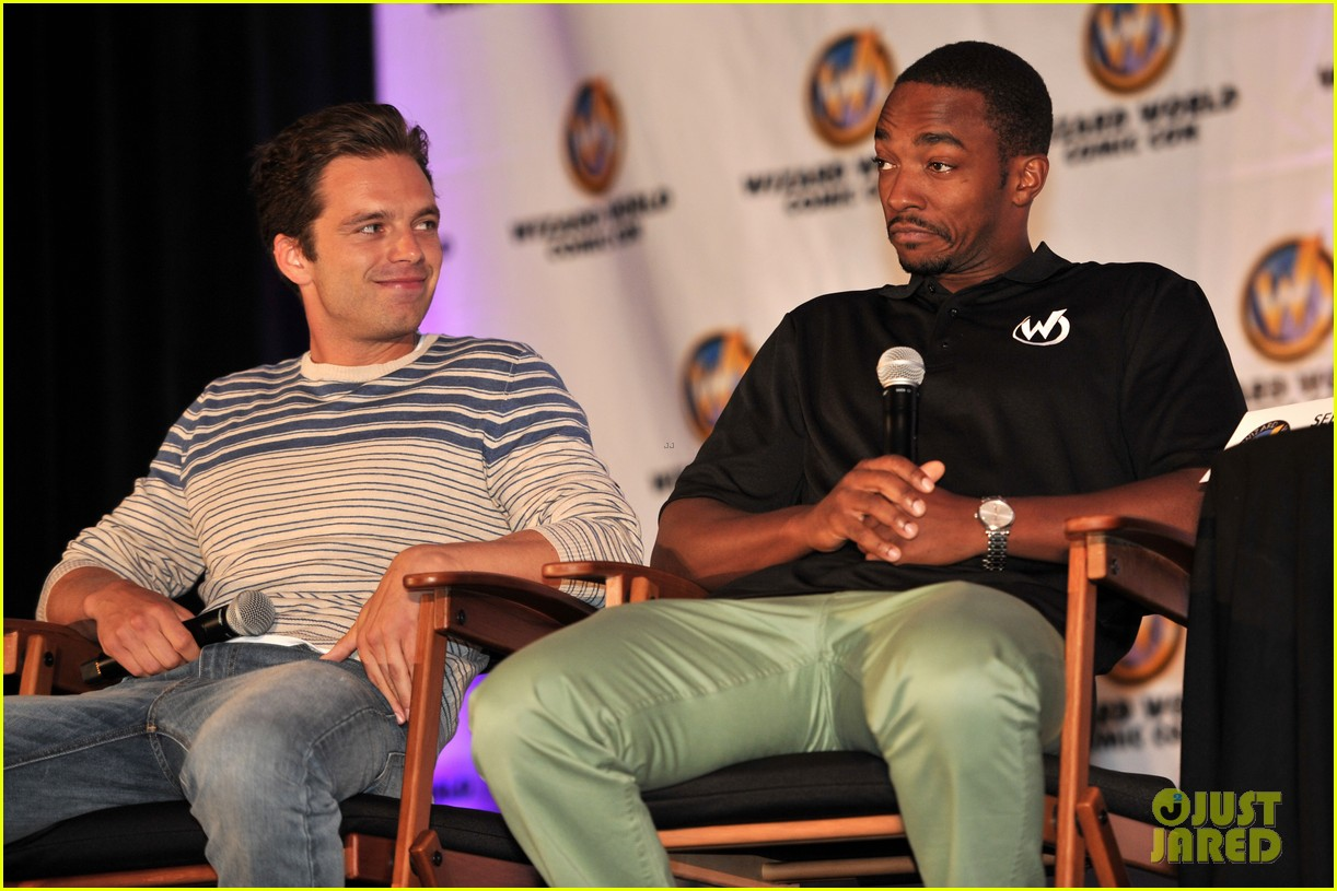 sebastian stan anthony mackie attend wizard world chicago comic con 033182822