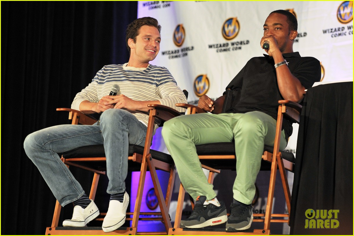sebastian stan anthony mackie attend wizard world chicago comic con 073182826