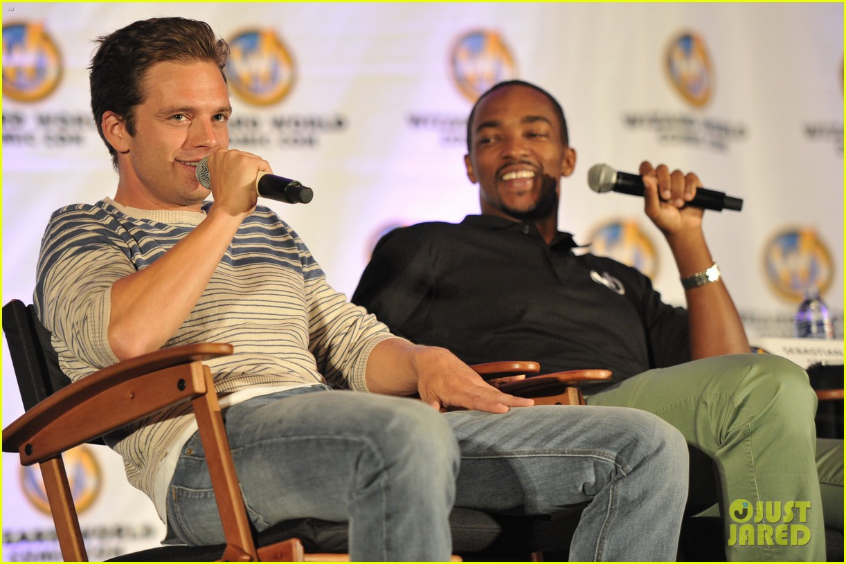 sebastian stan anthony mackie attend wizard world chicago comic con 103182829