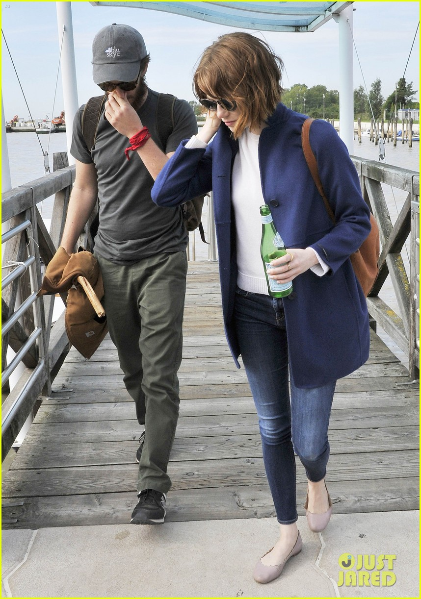 emma stone andrew garfield leave venice after film festival 063187268