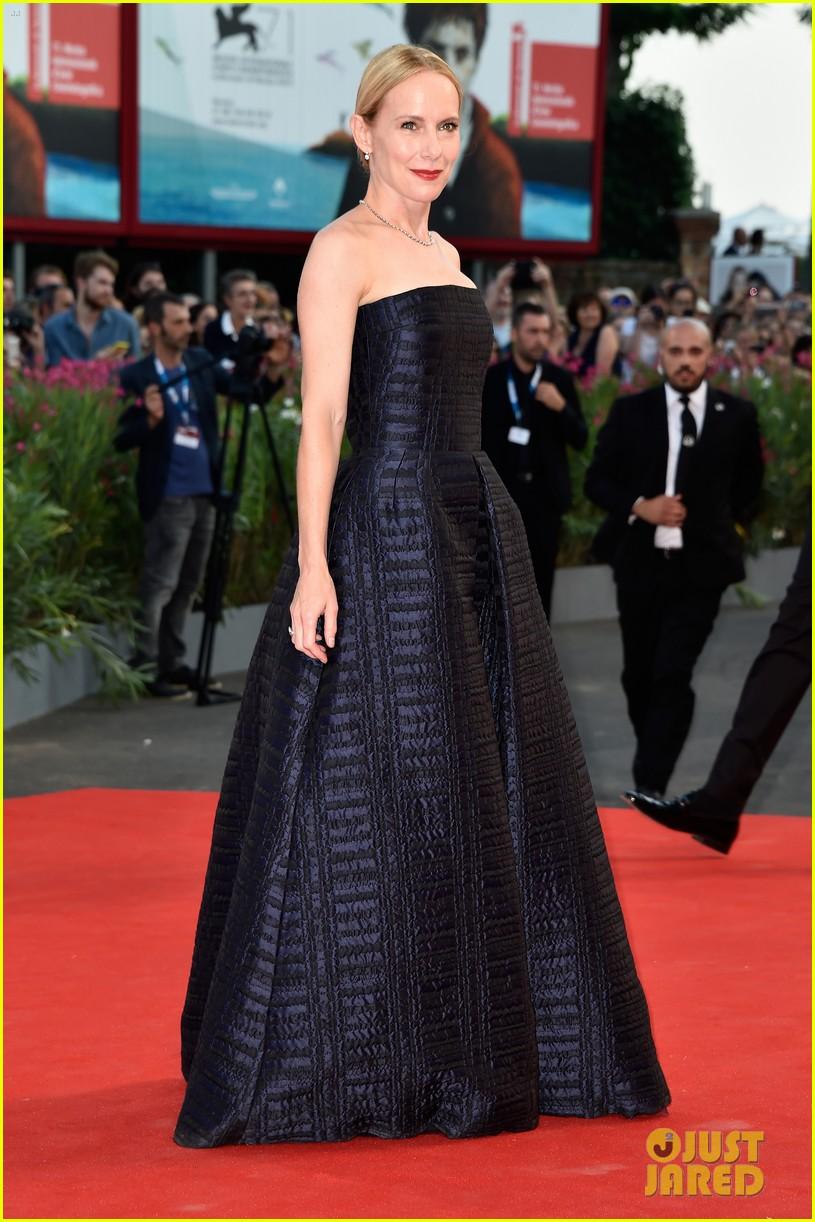 emma stone low cut dress for birdman venice premiere 173184857
