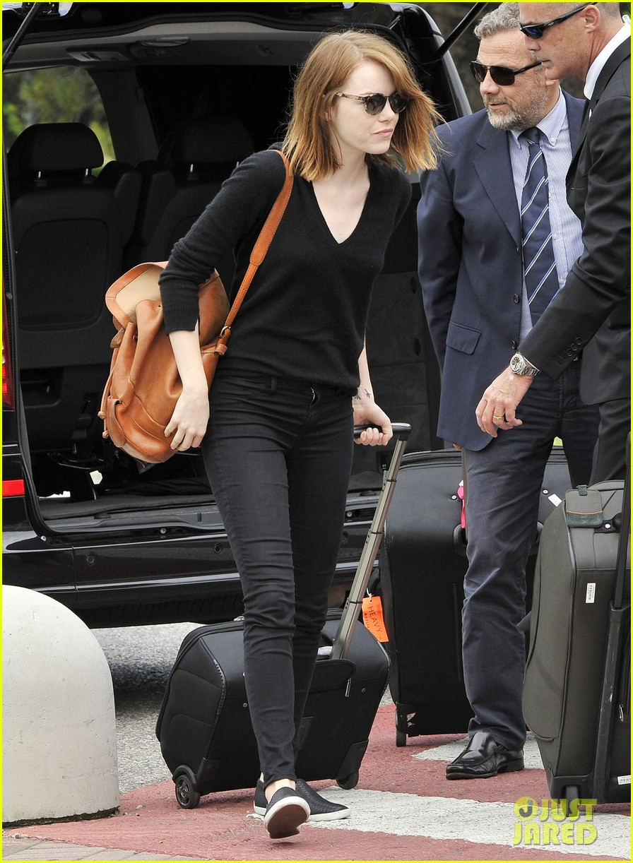 emma stone arrives for venice film festival for birdman opening 033184197