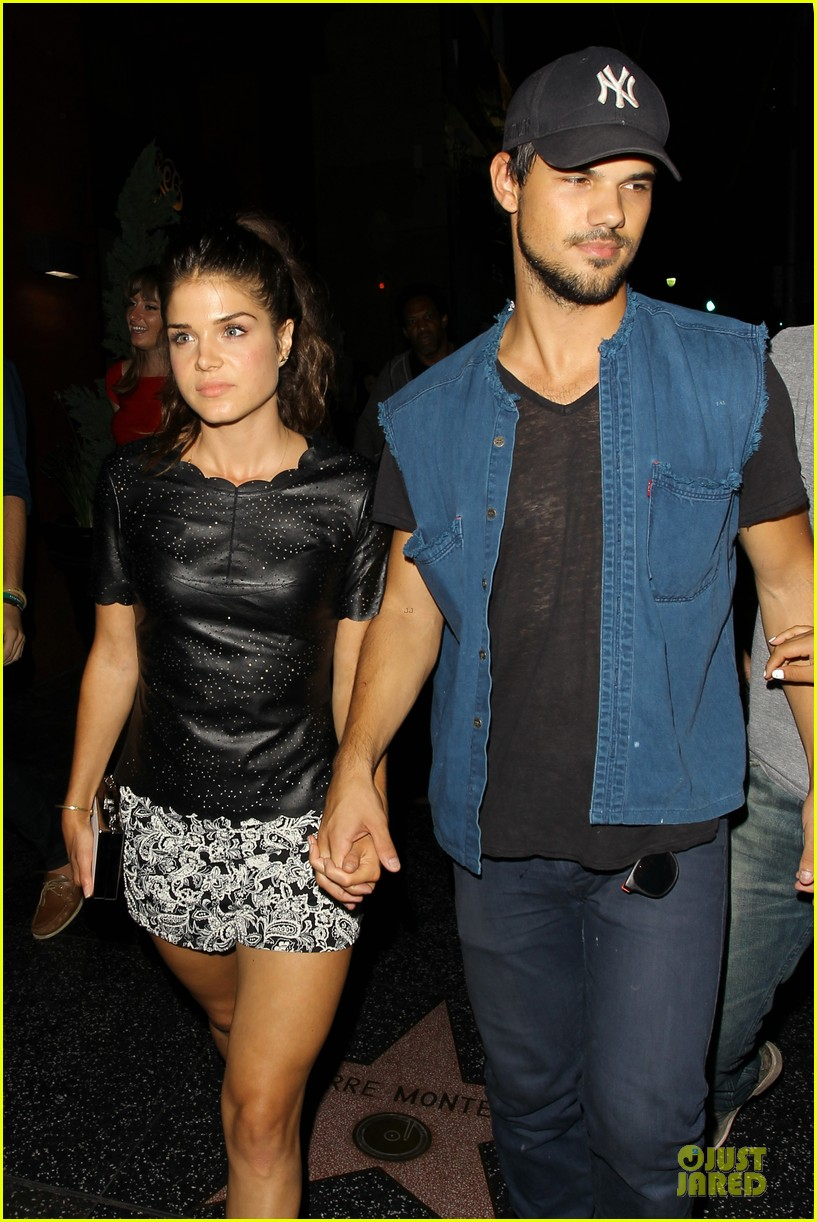 taylor lautner marie avgeropoulos strong hollywood 043181555