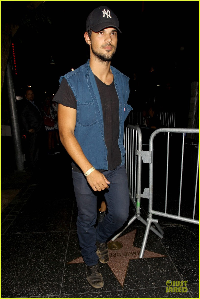 taylor lautner marie avgeropoulos strong hollywood 053181556