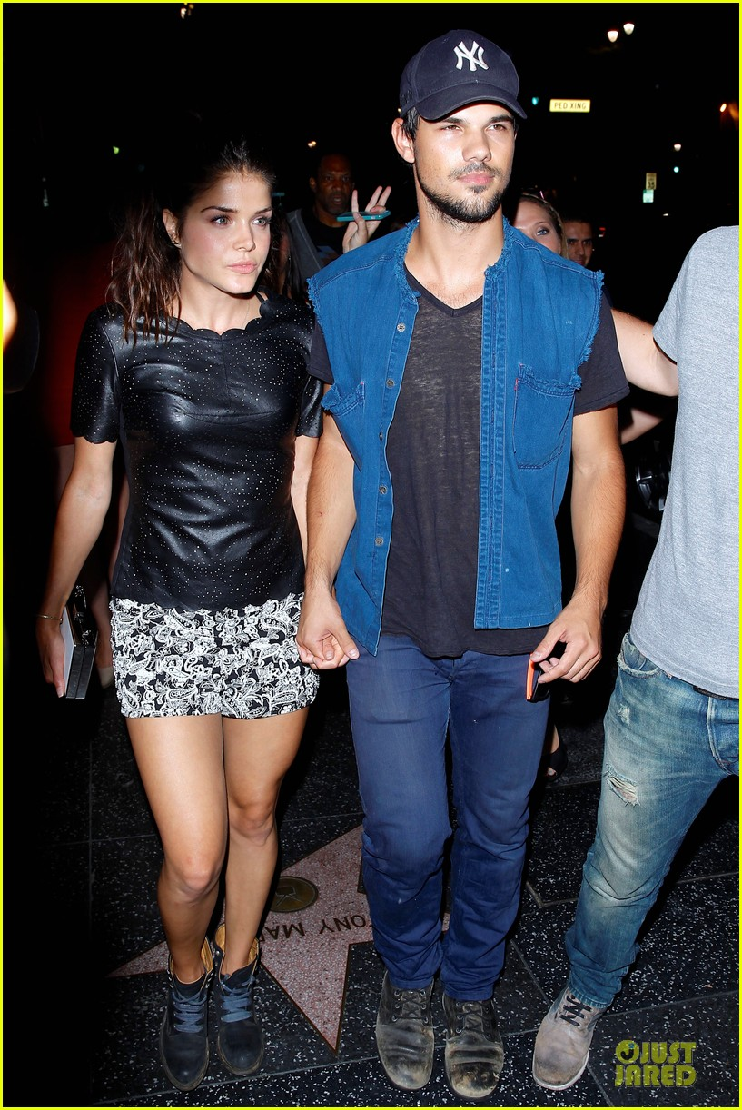 taylor lautner marie avgeropoulos strong hollywood 073181558