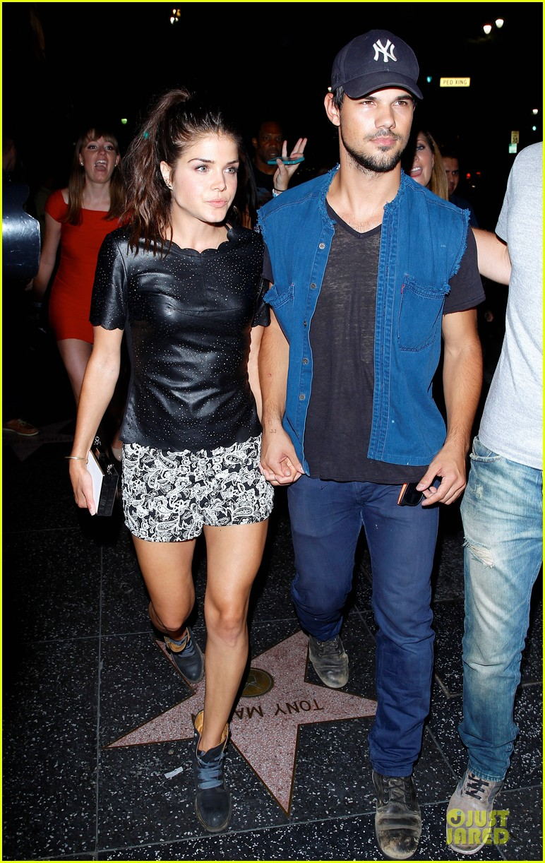 taylor lautner marie avgeropoulos strong hollywood 083181559