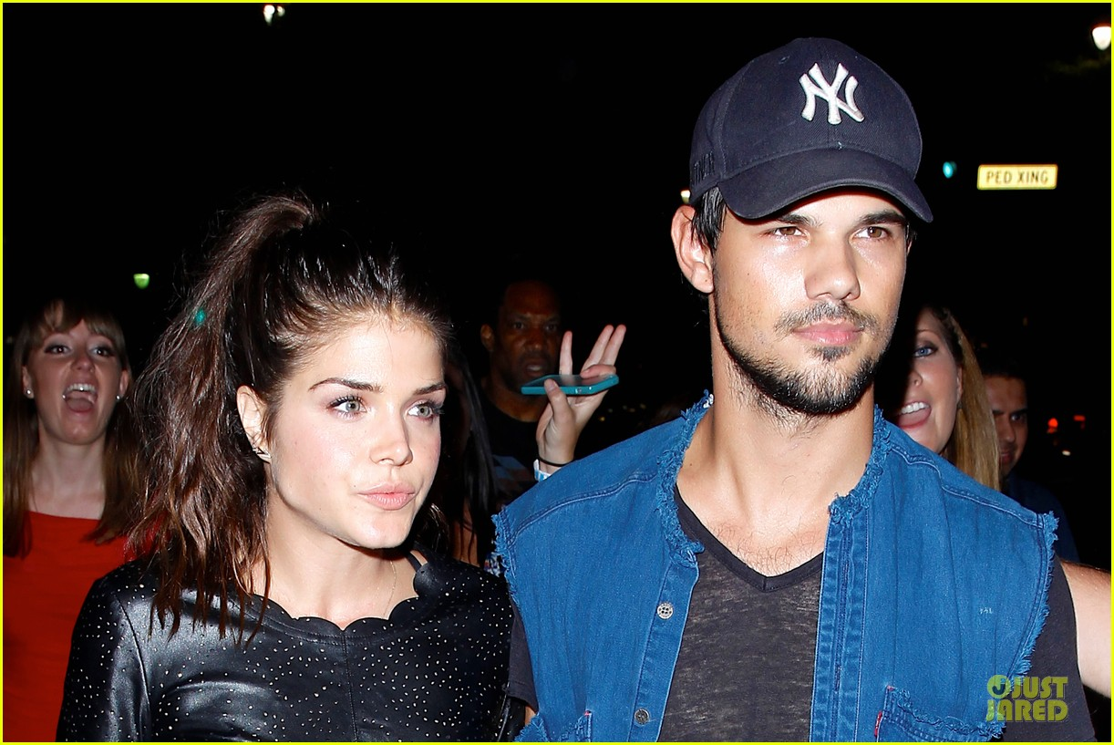 taylor lautner marie avgeropoulos strong hollywood 09