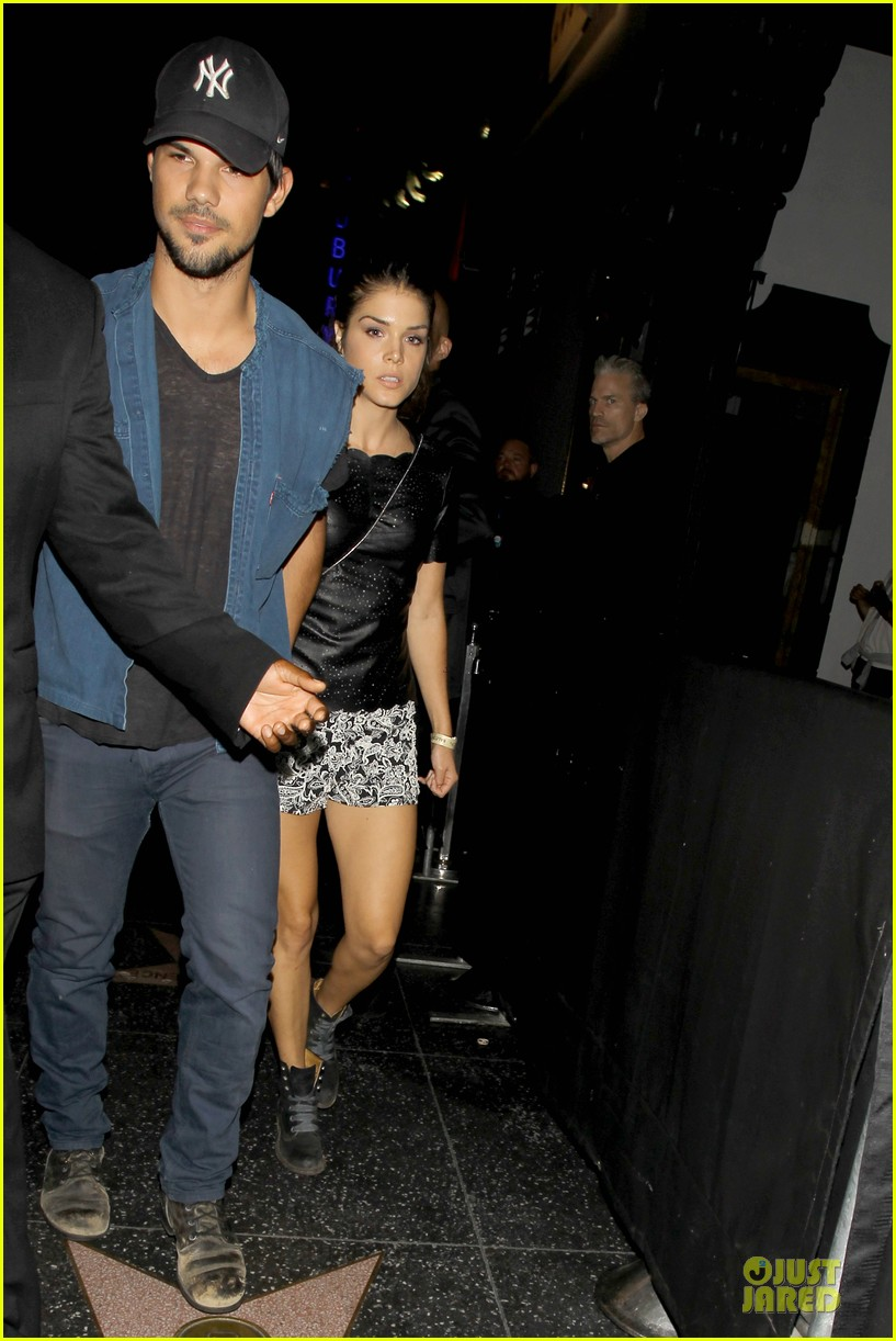 taylor lautner marie avgeropoulos strong hollywood 113181562