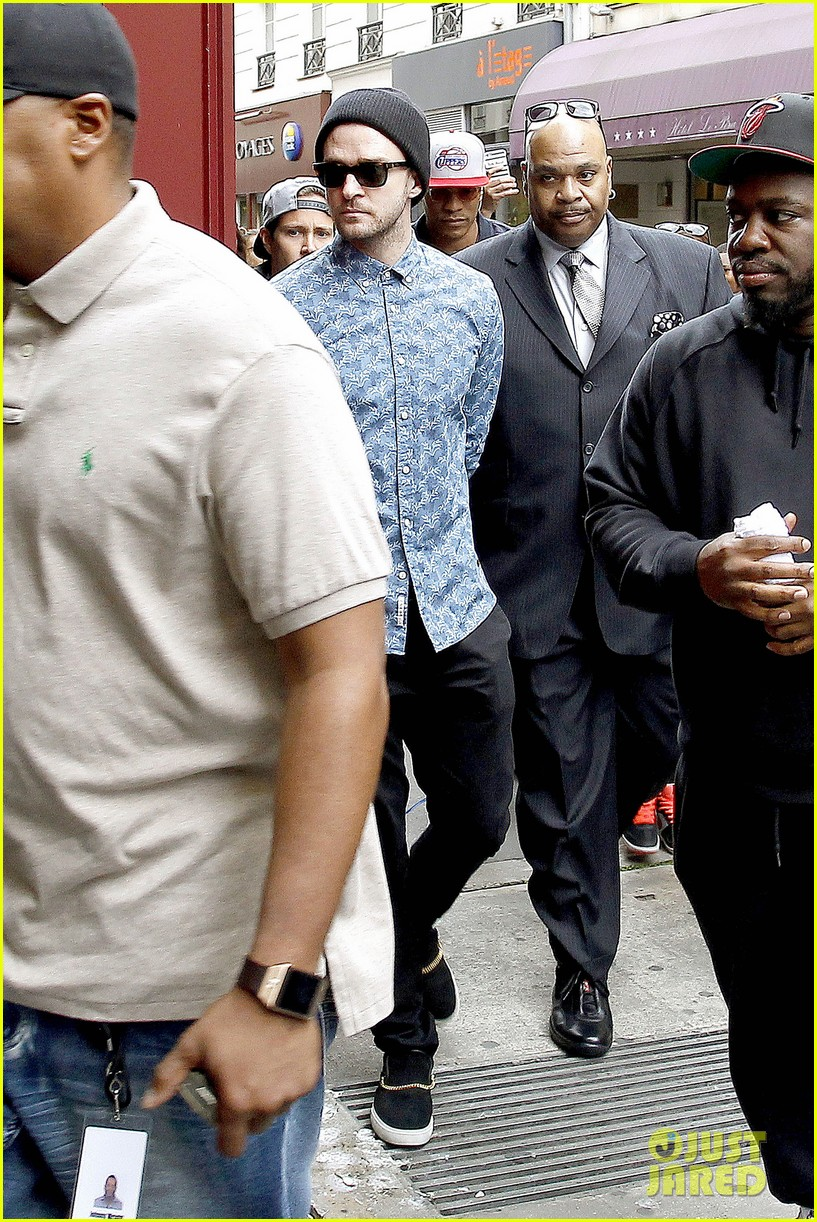 justin timberlake steps out after sending controversial madonna tweet 053180155