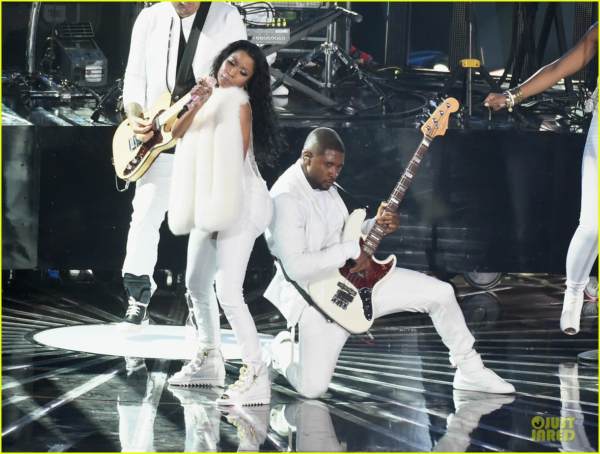 usher nicki minaj she came to get it vmas 033182532