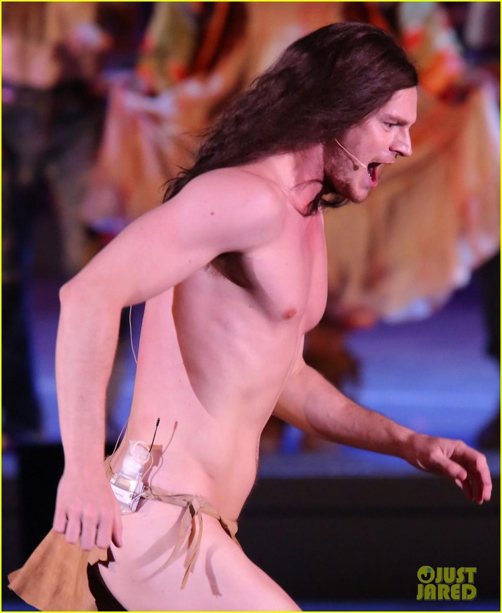 Nude Fire Dancing