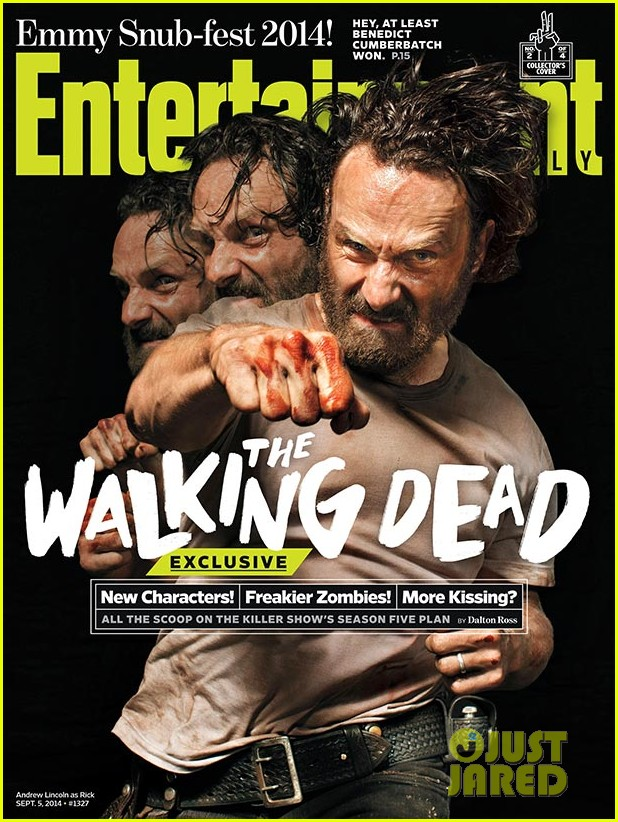 walking dead four new character magazine issues 023184759
