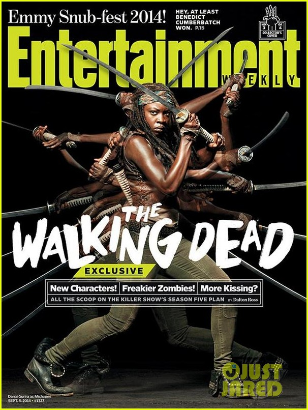 walking dead four new character magazine issues 033184760