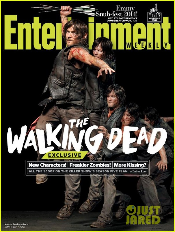 walking dead four new character magazine issues 043184761