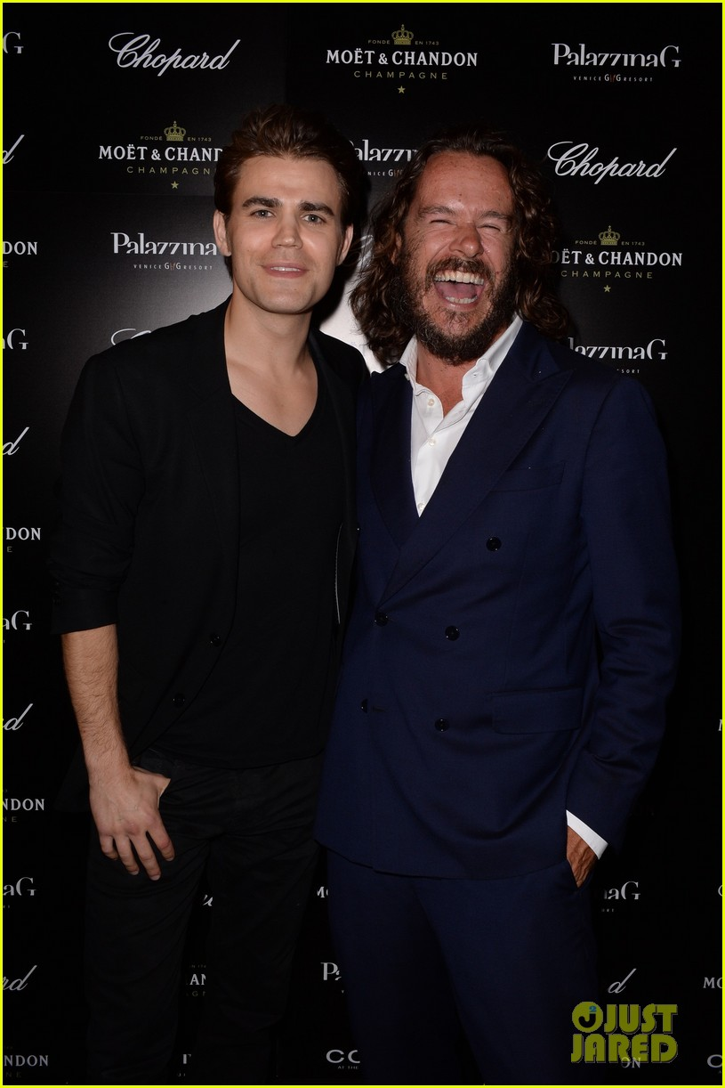 paul wesley fatima ptacek venice kick off party photo call 013185707