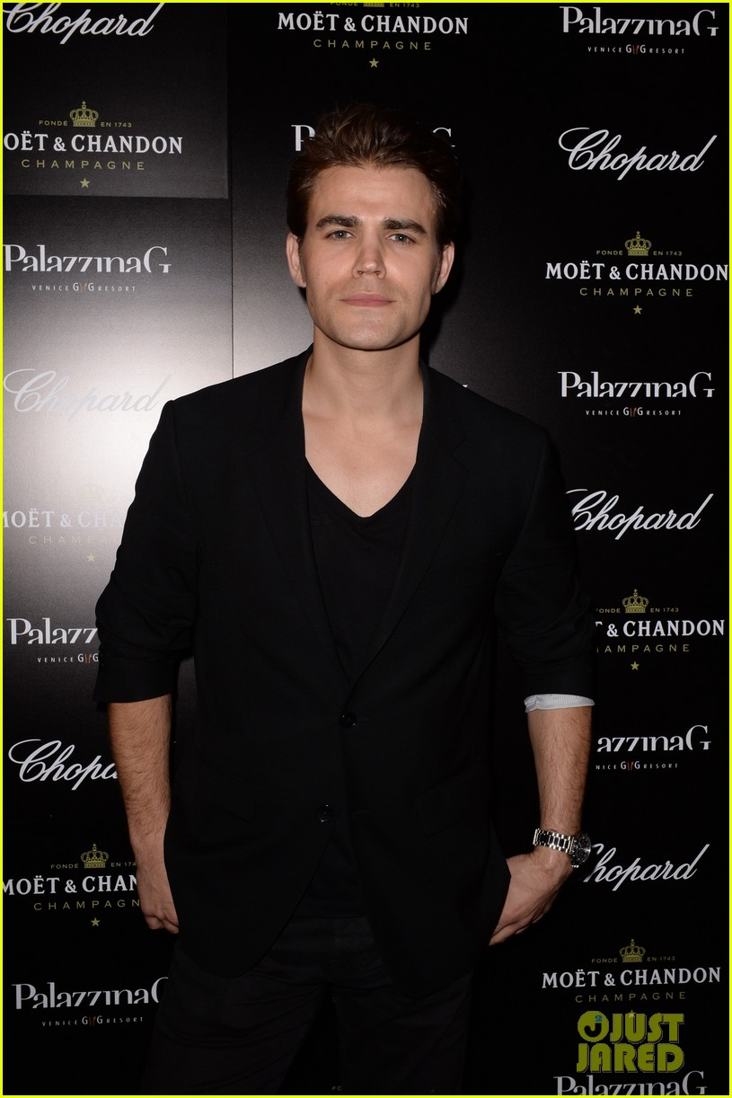 paul wesley fatima ptacek venice kick off party photo call 073185713