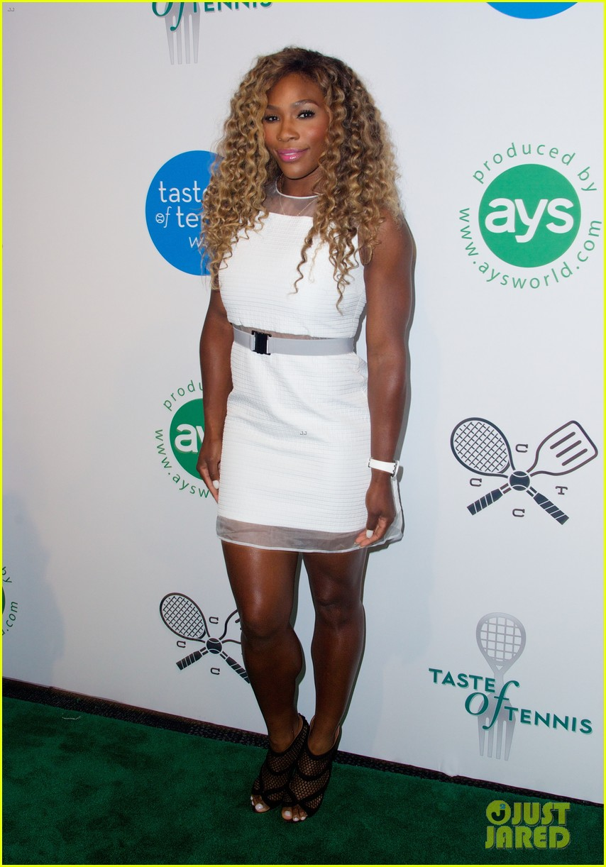 serena williams cooks up a storm at the taste of tennis gala 2014 093180814