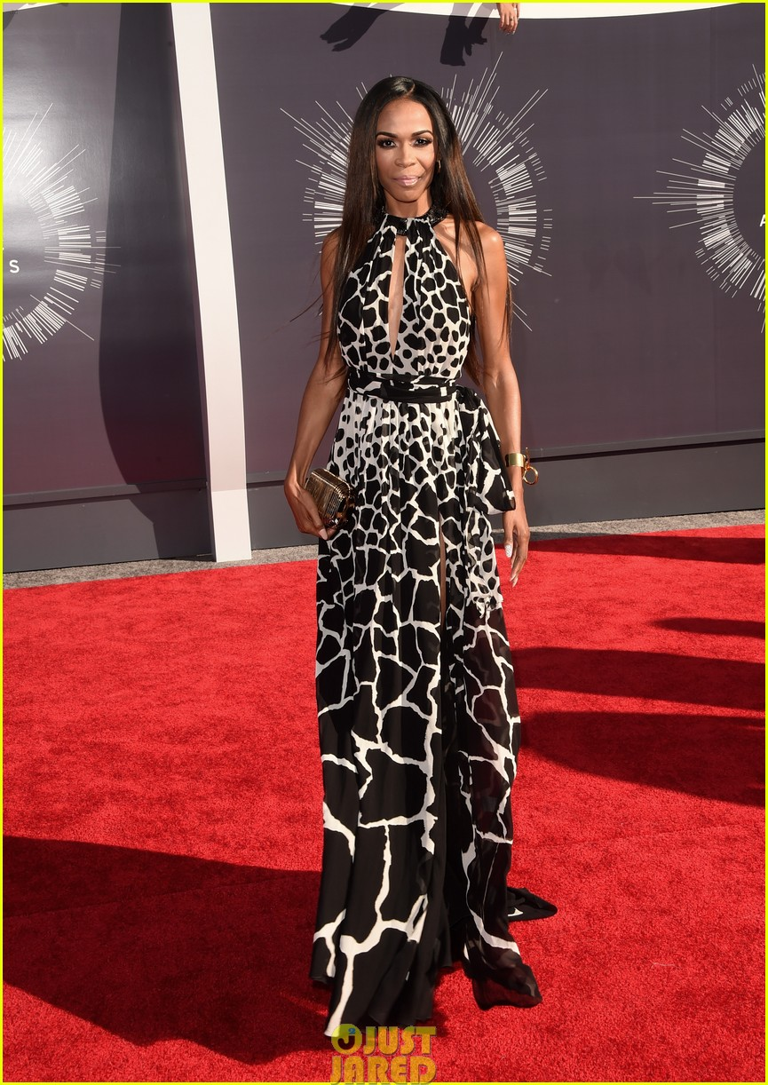 michelle williams animal print dress vmas mtv 033182643