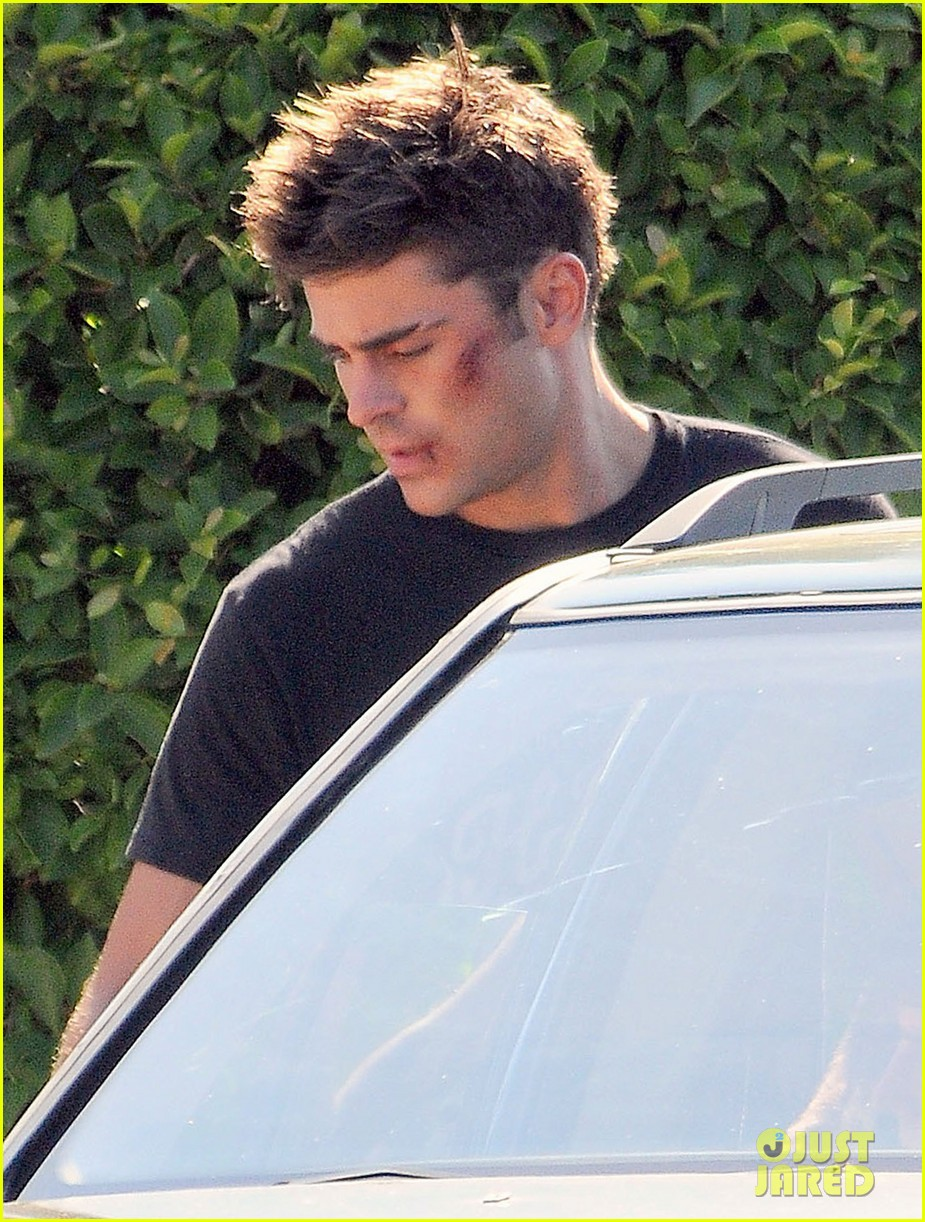 zac efron gets roughed up on we are your friends set 04
