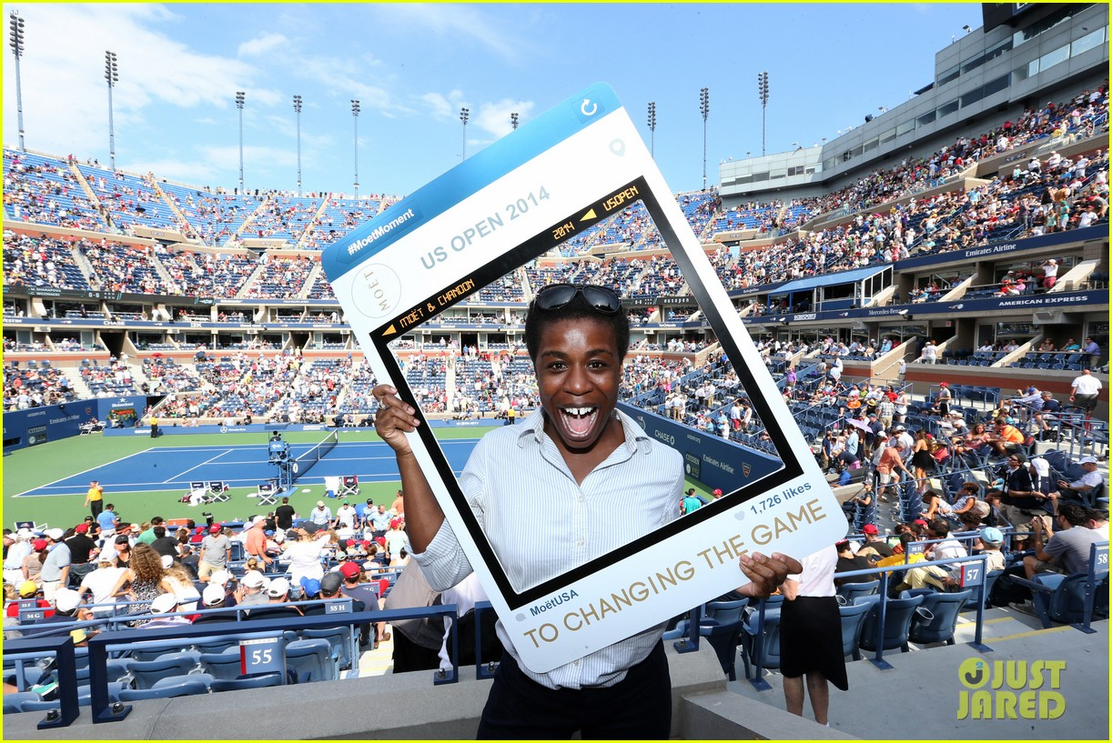 uzo aduba josh groban moet suite at us open 023188294