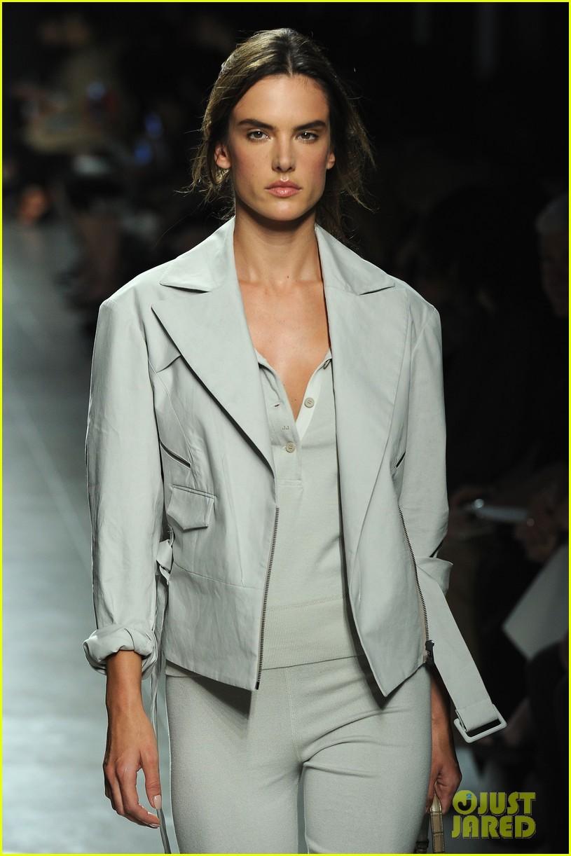 alessandra ambrosio fashion replay during milan fashion week 063201083