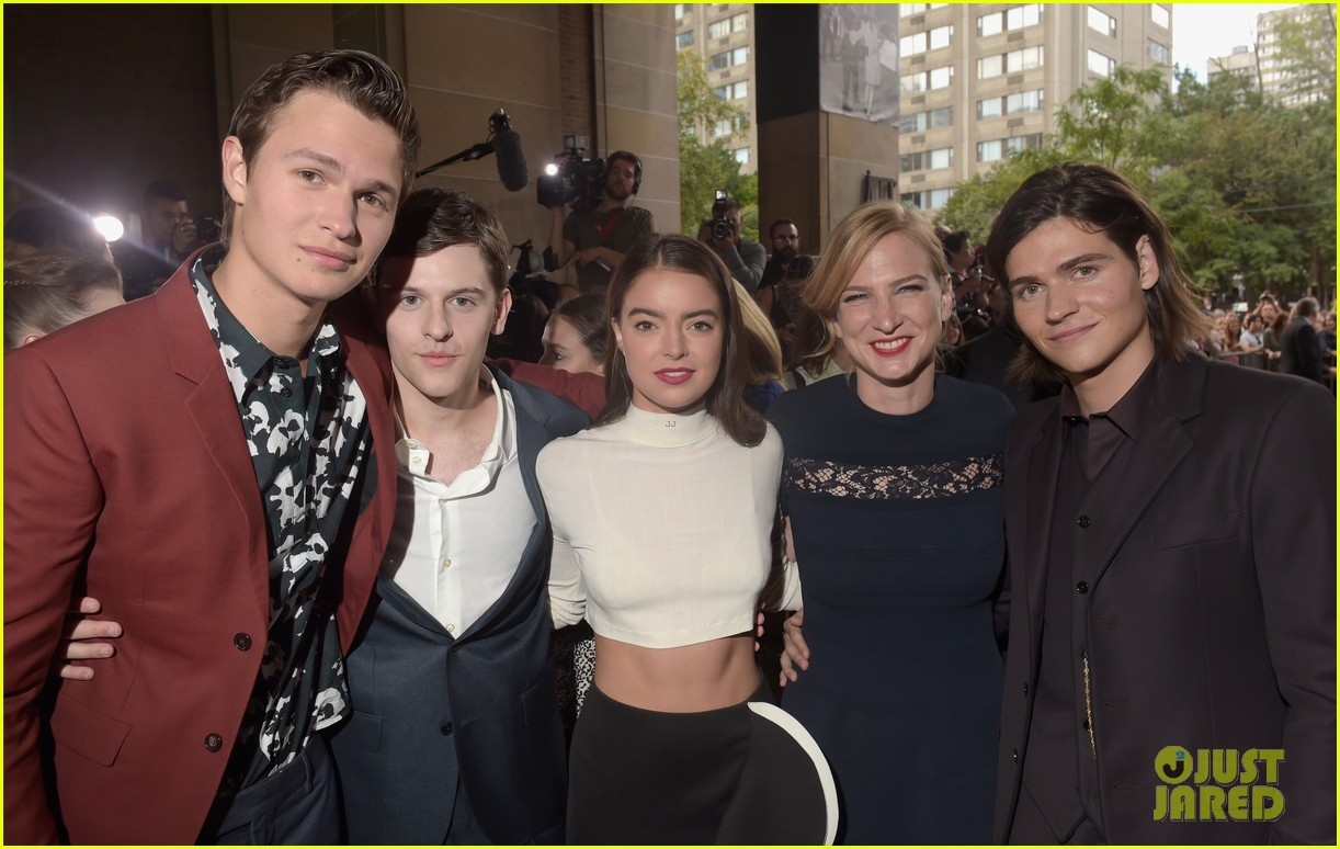 ansel elgort kaitlyn dever men women children premiere tiff 133191475